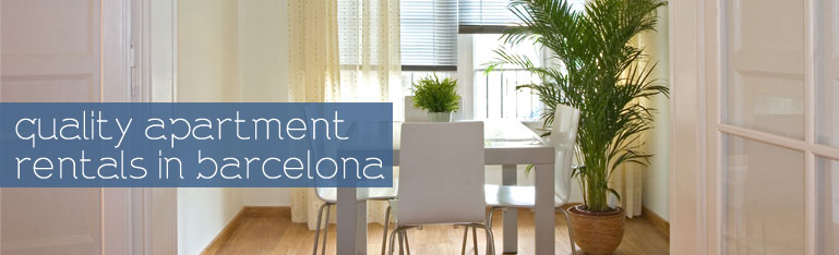 apartment appartment exhibition trade fair show rental flat rent barcelona